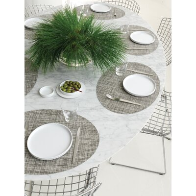 Chilewich Oval Mini Basketwave Placemat