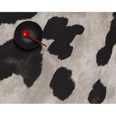 Chilewich Cowhide Zip with Black Spots