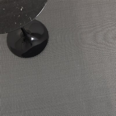 Chilewich Basketweave Titanium Rug