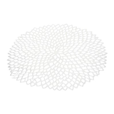 Pressed Vinyl Dahlia Placemat (Set of 8)