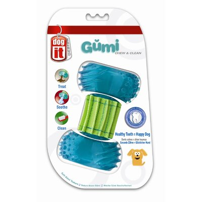 Dogit by Hagen Dogit Design GUMI Dental Dog Toy - Chew and Clean