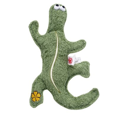Dogit by Hagen Dogit Eco Terra Natural Bamboo Gecko Dog Toy