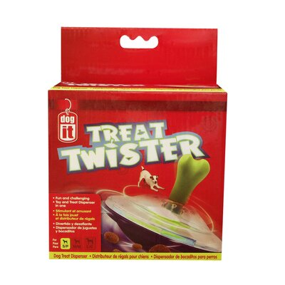 Dogit by Hagen Dogit Twister Dog Treat Dispensing Toy