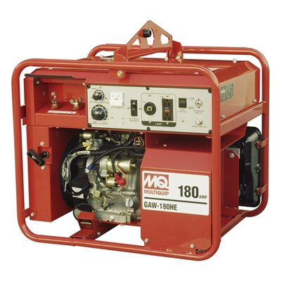 3,000 Watt Honda GX340 180A DC Welder / 3 KW Generator with Recoil Start - ...