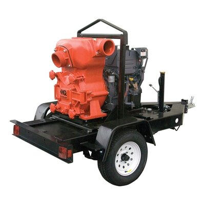 Multiquip 1083 GMP Deutz F2L2011 Trash Pump