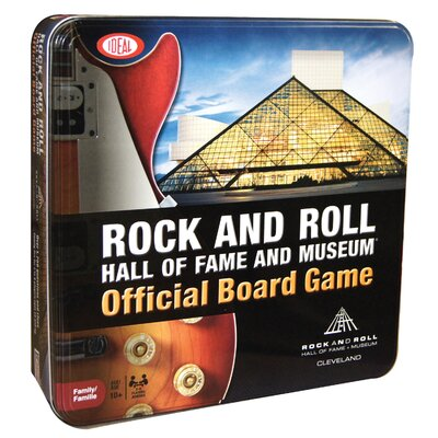 Ideal Classics Rock and Roll Hall of Fame Board Game