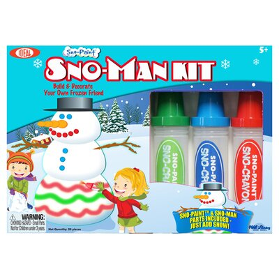 <strong>Ideal Classics</strong> Sno Paint Snowman Kit