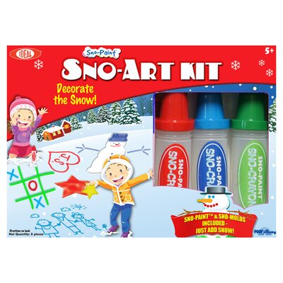 Ideal Classics Sno Paint Snow Art Kit