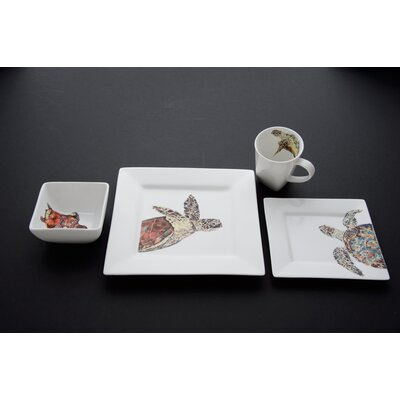 Turtle Dinnerware Set