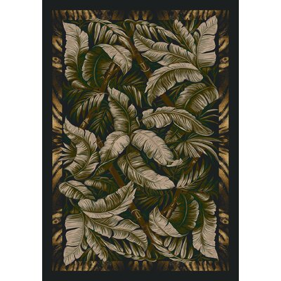 Signature Jungle Fever Ebony Sage Rug