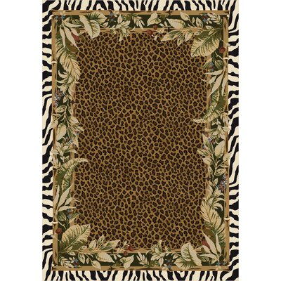 Milliken Signature Jungle Safari Emerald Rug