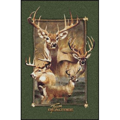 Milliken Realtree Jordan Bucks Novelty Rug