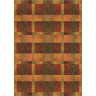 Milliken Modern Times Aura Fall Orange Rug