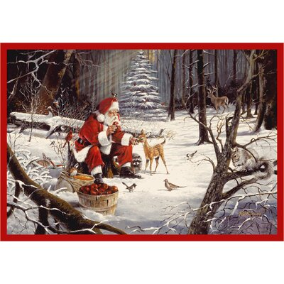 Milliken RJ McDonald Christmas Party Novelty Rug