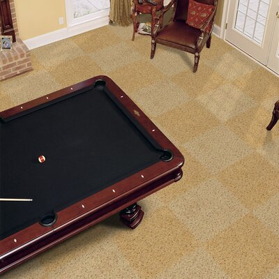 "Milliken Legato Touch 19.7"" x 19.7"" Carpet Tile in Seadunes"