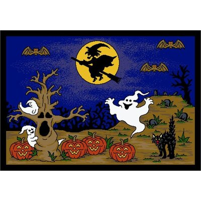 Fall Halloween Mat