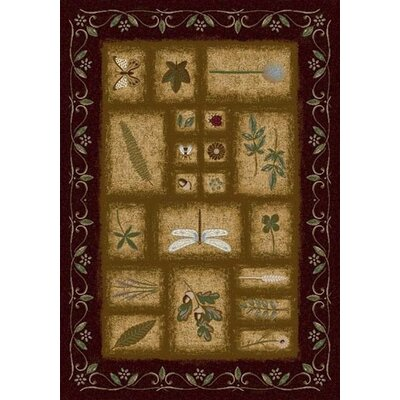 Signature Meadow Dark Chocolate Rug