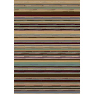 Milliken Innovation Lola Light Topaz Striped Rug