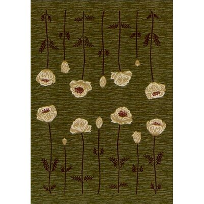 Milliken Innovation Poppy Olive Rug