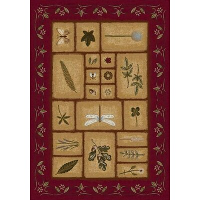 Signature Meadow Brick Novelty Rug