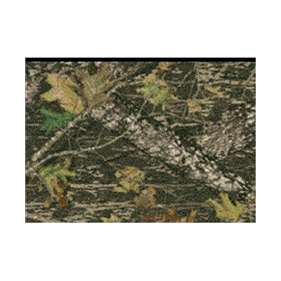 Milliken Mossy Oak Breakup Solid Camo Novelty Rug