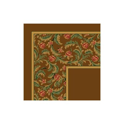 Milliken Design Center Latin Rose Nutmeg Rug