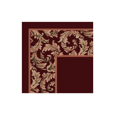 Milliken Design Center Corinthius Garnet Rug