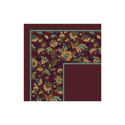 Milliken Design Center Marrakesh Garnet Rug