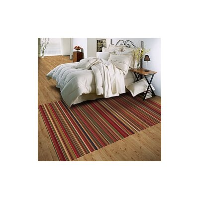 Milliken Modern Times Canyon Dark Red Rug