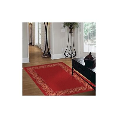 Milliken Modern Times Sonata Indian Red Rug