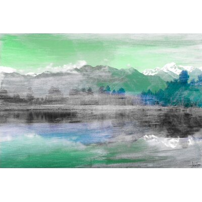 Mountain High Painting Prints on Canvas