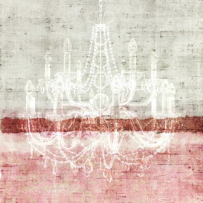 Chandelier Painting Print on Canvas