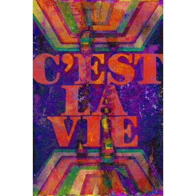 C'est la Vie Painting Prints on Canvas