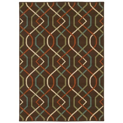 Oriental Weavers Montego Brown/Ivory Outdoor Rug