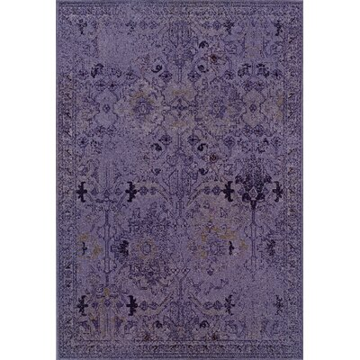 Oriental Weavers Sphinx Revival Purple/Gray Rug