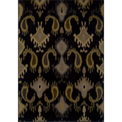 Oriental Weavers Sphinx Stella Black/Gray Rug