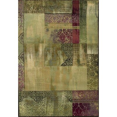 Oriental Weavers Sphinx Generations Medium Green Rug