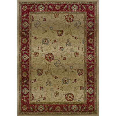 Oriental Weavers Sphinx Genesis Persian Beige/Red Rug