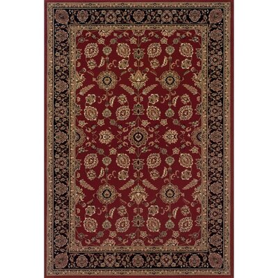 Ariana Black/Red Persian Rug