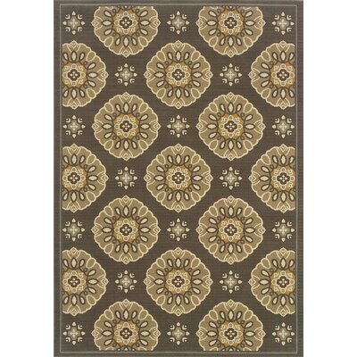 Oriental Weavers Sphinx Bali Grey/Gold Floral Rug
