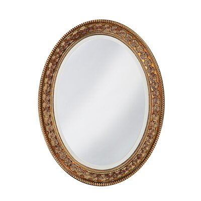 Parma Wall Mirror in Antique Copper