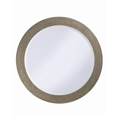 Lancelot Wall Mirror in Silver Leaf