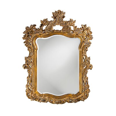 Turner Wall Mirror in Antique Museum Gold