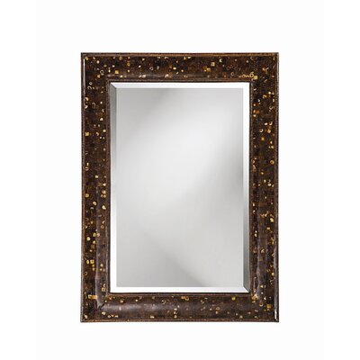Bora Bora Wall Mirror with Brown & Mocha Coco Shell Inlay