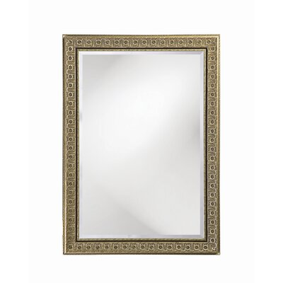 Colorado Wall Mirror in Antique Silver