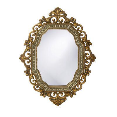 Howard Elliott Ariana Mirror in Antique Smoke