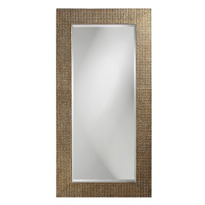 Howard Elliott Lancelot Wall Mirror in Mother of Pearl Silver Leaf