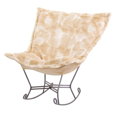 Puff Scroll Sable Rocker