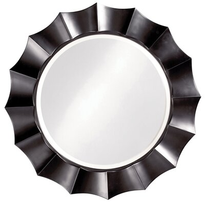 Howard Elliott Corona Mirror with Silver Finish