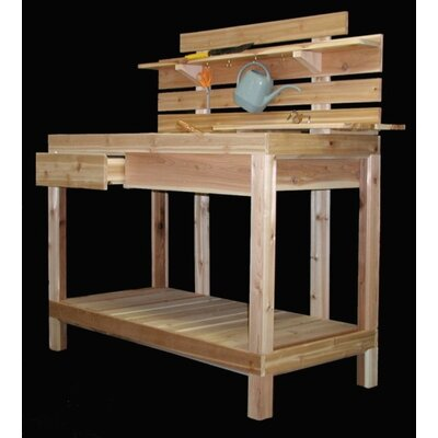 Cedar Creek Cedar Potting Bench